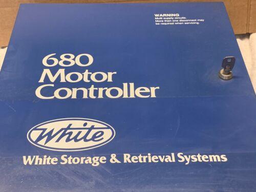 WHITE STORAGE & RETRIEVAL SYSTEMS 680 MOTOR CONTROLLER