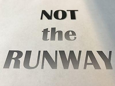 NOT-the-RUNWAY