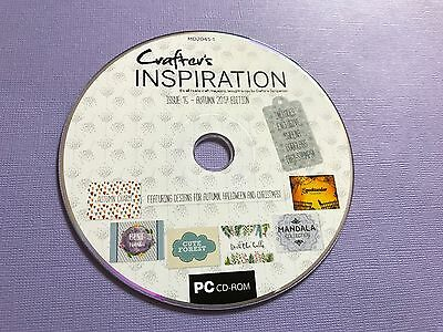 CRAFTERS INSPIRATION ISSUE 15 AUTUMN RESOURCE CD SARA DAVIES CRAFTERS COM