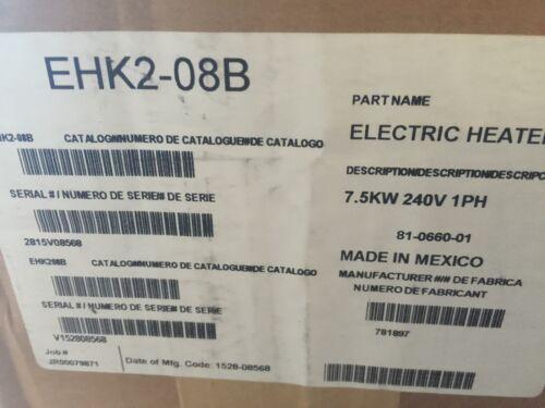 CARRIER PAYNE  GRANDAIRE  7.5 Kw Electric AIR HANDLER  Heat Kit  EHK2-08B  NEW !