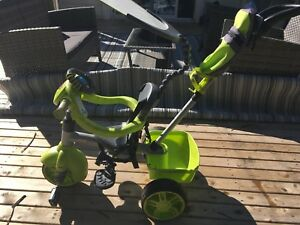 Little tikes tricycle with push handle