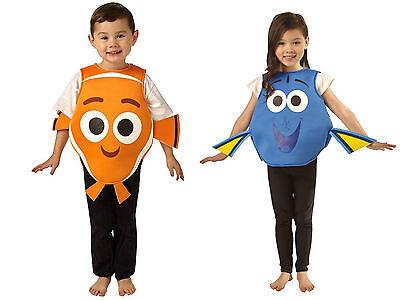 ★ Rubies Disney Baby Finding Nemo oder Dory Fisch KinderKostüm Kind 80-116