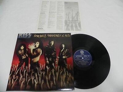 Kiss - Smashes Thrashes & Hits Korea Promo Sample LP W/Insert