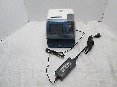 Amano Pix-200 Atomic Time Clock Pix200 Punch Recorder