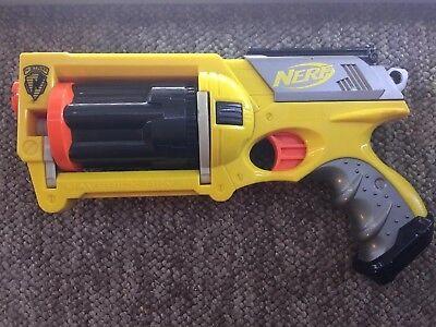 NERF N STRIKE 💥 Accessories Boys Gun Guns Toys for Kids Big NURF Maverick Rev 6](Nurf Guns)