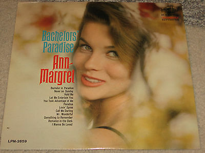Ann Margret Bachelors Paradise Rca Mono Lsp 2659 Record Lp Black Label Oop