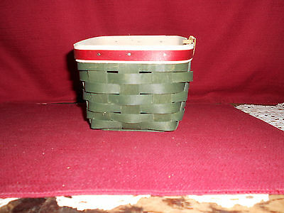 "Longaberger  2015 ""TAPERED TRINKETS""  BASKET!   NEW!   BUY IT NOW!    L@@K!"