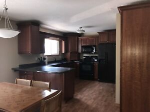 Fully furnished three bedroom apartment for rent in Carlyle, Sk.