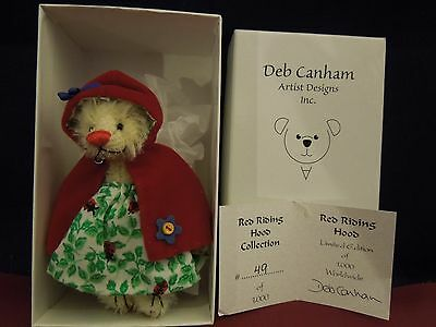Deb Canham Red Riding Hood From The Red Riding Hood Collection LE 49/1000
