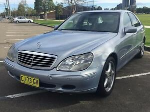 2001 MERCEDES BENZ S320 SALOON Oatlands Parramatta Area Preview