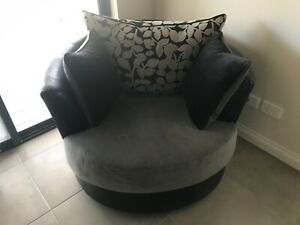 L Shape Couch and Chair