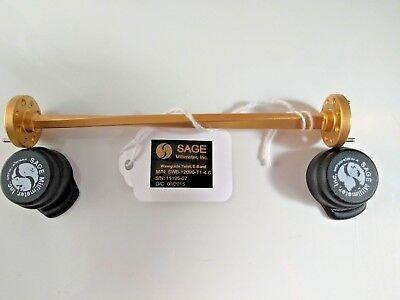 Sage Swb-12090-t1-4.6 Wr-12 Waveguide Twist E Band 60 Ghz - 90 Ghz 90 Degree
