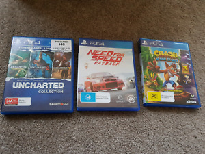 Need for Speed Payback & Uncharted Collection