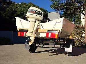 5hp Johnson Boat Homebush Strathfield Area Preview
