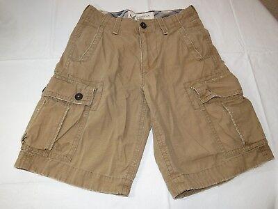 Jungen American Eagle (Jungen American Eagle Outfitters Klassisch Länge Cargo-Shorts 26 Gebrauchte Guc)