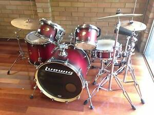 Ludwig Drum Kit Eagle Vale Campbelltown Area Preview