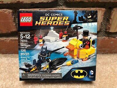 Lego Batman The Penguin Face off 76010 DC Comics -- NIB -- Fast ship!