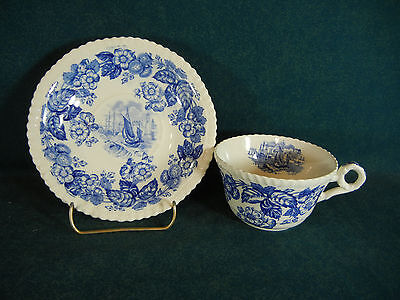 Copeland Spode Old Salem Cup and Saucer Set(s)