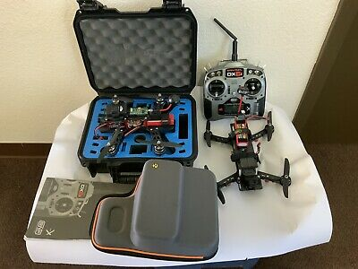 2 Quadcopter Drone Qav 250 With 1 In the event that And Controller With Case Flight Ready
