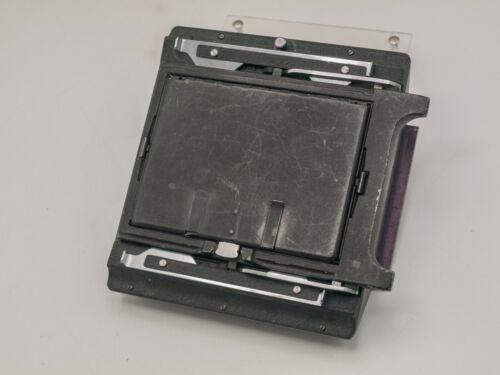 "Rare - Singer Graflex 4x5"" Graflok Camera Back Adapter - Unknown Fit"