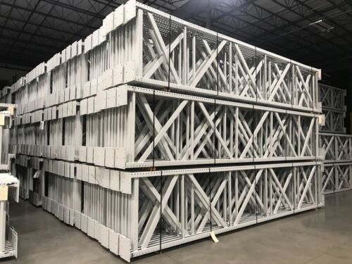 "H D Tear Drop Pallet Racking, 48""D x 240"" (20"