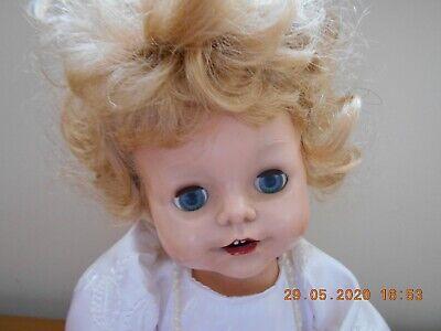 Vintage 1950S Pedigree 14 in Hard Plastic Little Princess Doll Fab