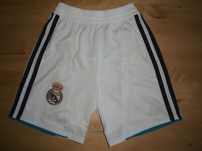 REAL MADRID ADIDAS HOME FOOTBALL SHORTS - BABY / TODDLER AGE 1-2, 92CM *PERFECT*