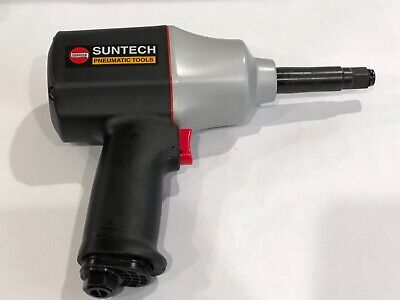 Suntech 12 Drive Pneumatic Air Impact Wrench 2 Extended Anvil Twin Hammer