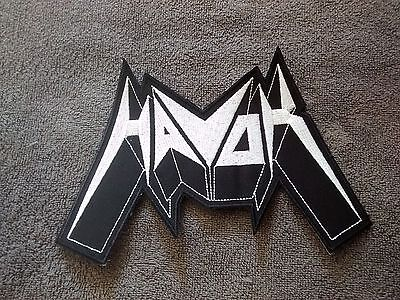 HAVOK,SEW ON WHITE EMBROIDERED LARGE BACK PATCH