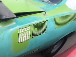 1970 AAR cuda project car ,rare
