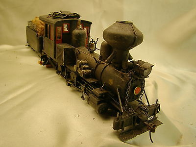 Ho On30 -  Logging  Steam Engine - DCC onboard -custom weathered, painted  lotB