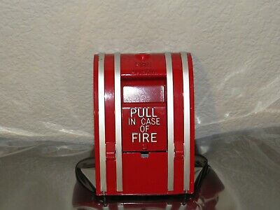 New No Box Adt Adt-270 Fire Alarm Pull Station