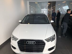 2018 Audi A3- Lease transfer All included 495$ tax in