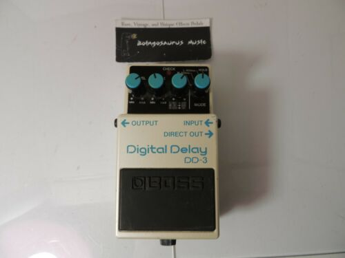 Boss DD-3 Digital Delay Effects Pedal Free USA Shipping