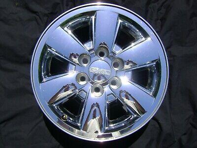 "07-13 GMC Sierra Yukon 1500 18"" 18x8 Chrome Factory OEM Rim Wheel TPMS Cap 5418"
