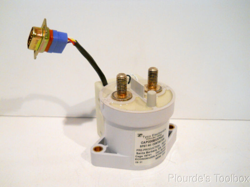 Used Tyco Kilovac SPST NC Relay Contactor CAP200BXXFA01, 28 VDC, 500 Amp