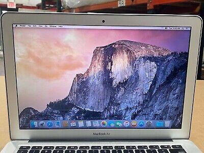 "MacBook Air A1466 I5-5250U 1.6GHz 13"" 2015 256GB SSD, 8GB, 1440 x 900 READ DESC"