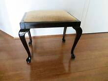 Refurbished antique piano stool cabriole legs Brighton-le-sands Rockdale Area Preview