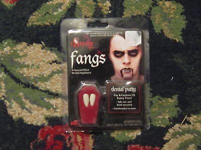 NIP vampire fangs halloween costume accessory dental putty cosplay dress up  (Dental Halloween Costumes)
