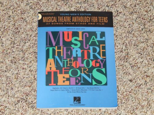 Musical Theatre Anthology For Teens Young Men's Edition w/ 2 CDs New