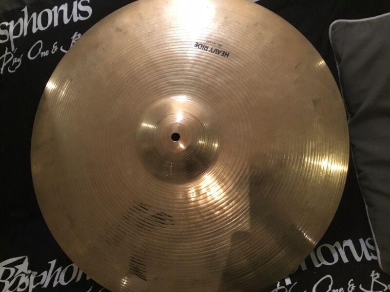 """Zildjian 20"""" K Series Ride Cymbal ... Vintage Late 1980s"""