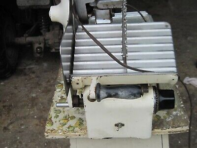 Works Great Excellent Us Berkel Commercial Meat Slicer Model Hcx Restaurant
