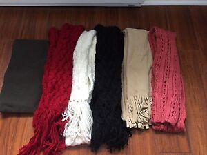 Assorted scarfs