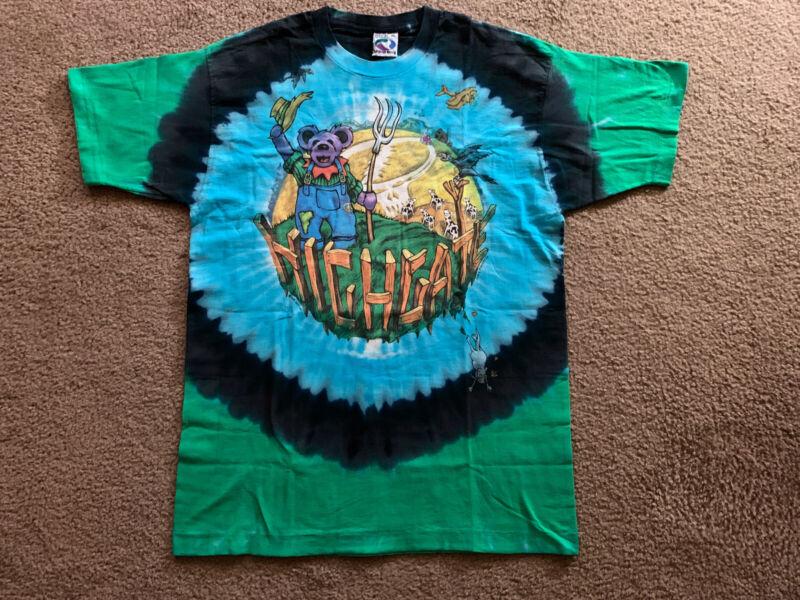 Grateful Dead T Shirt Vintage 1995 Summer Tour 6/15/95 Highgate, VT XL NOS RARE!