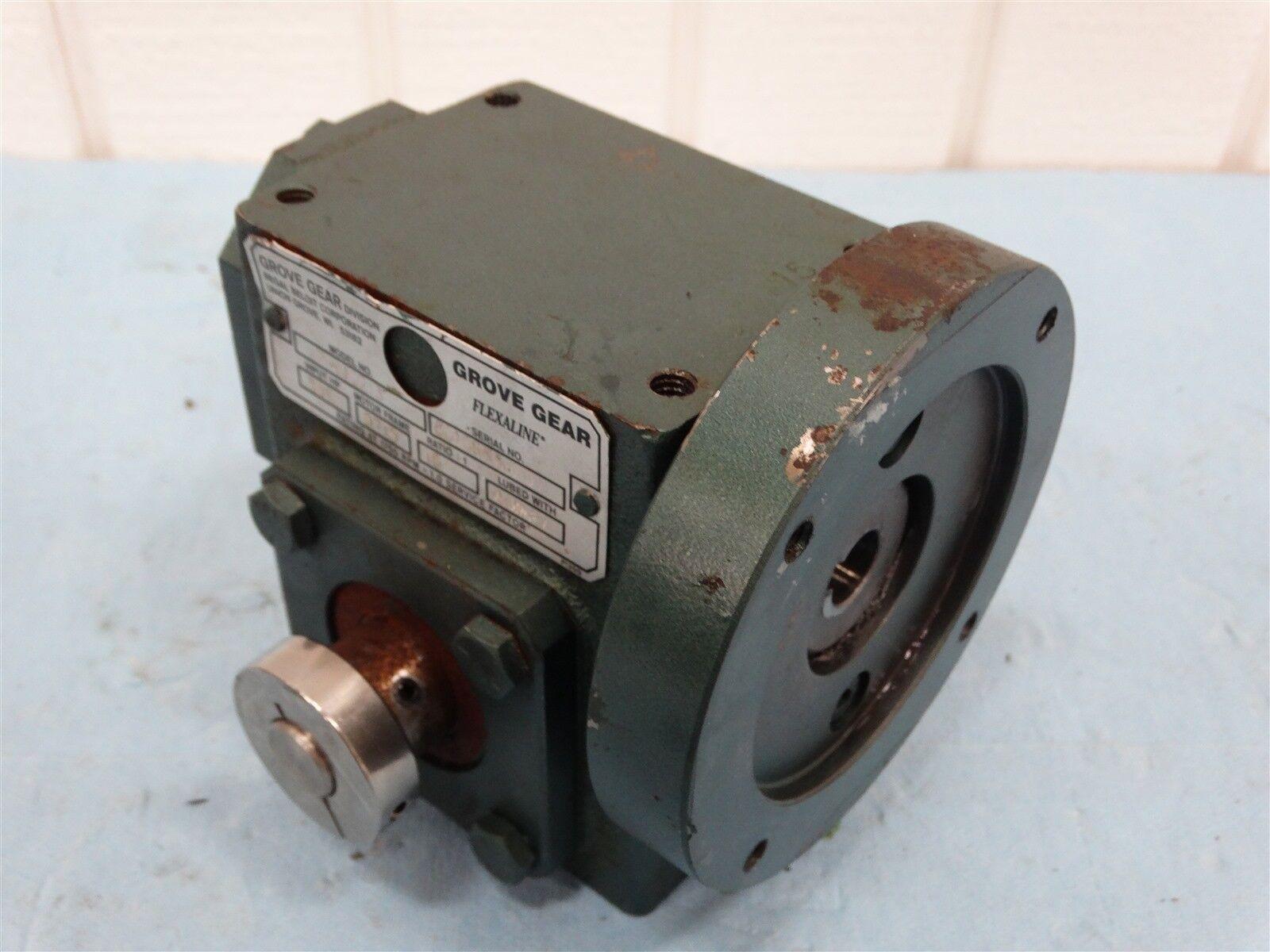Grove Gear SP HMQ213 Gearbox Reducer 15:1, 0.551 HP Input, 1750 RPM Rating