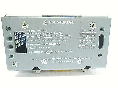 Lns-y-6 Lambda Power Supply 105-250 Vac 47-63 Hertz New Old Stock