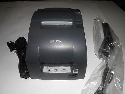 Epson Model Tm-u220b Pos Receipt Printer M188b Ethernet W Power Supply