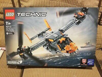 (CREASES, US SELLER) New, Sealed Lego Technic 42113 Bell Boeing V-22 Osprey