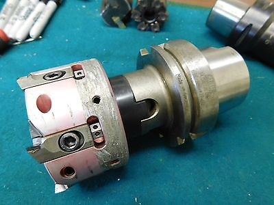 Gewefa Hsk 100 A Shell Mill Arbor With Mapal 80mm Diamond Tipped Shell Mill