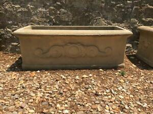 Sandstone planter pots